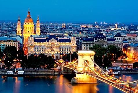 Будапешт - Вена - Прага