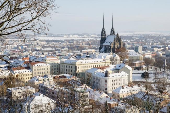 Brno zimoj